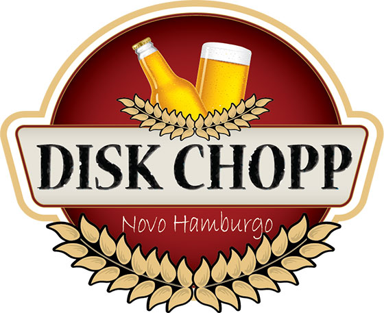 Logotipo Disk Chopp NH