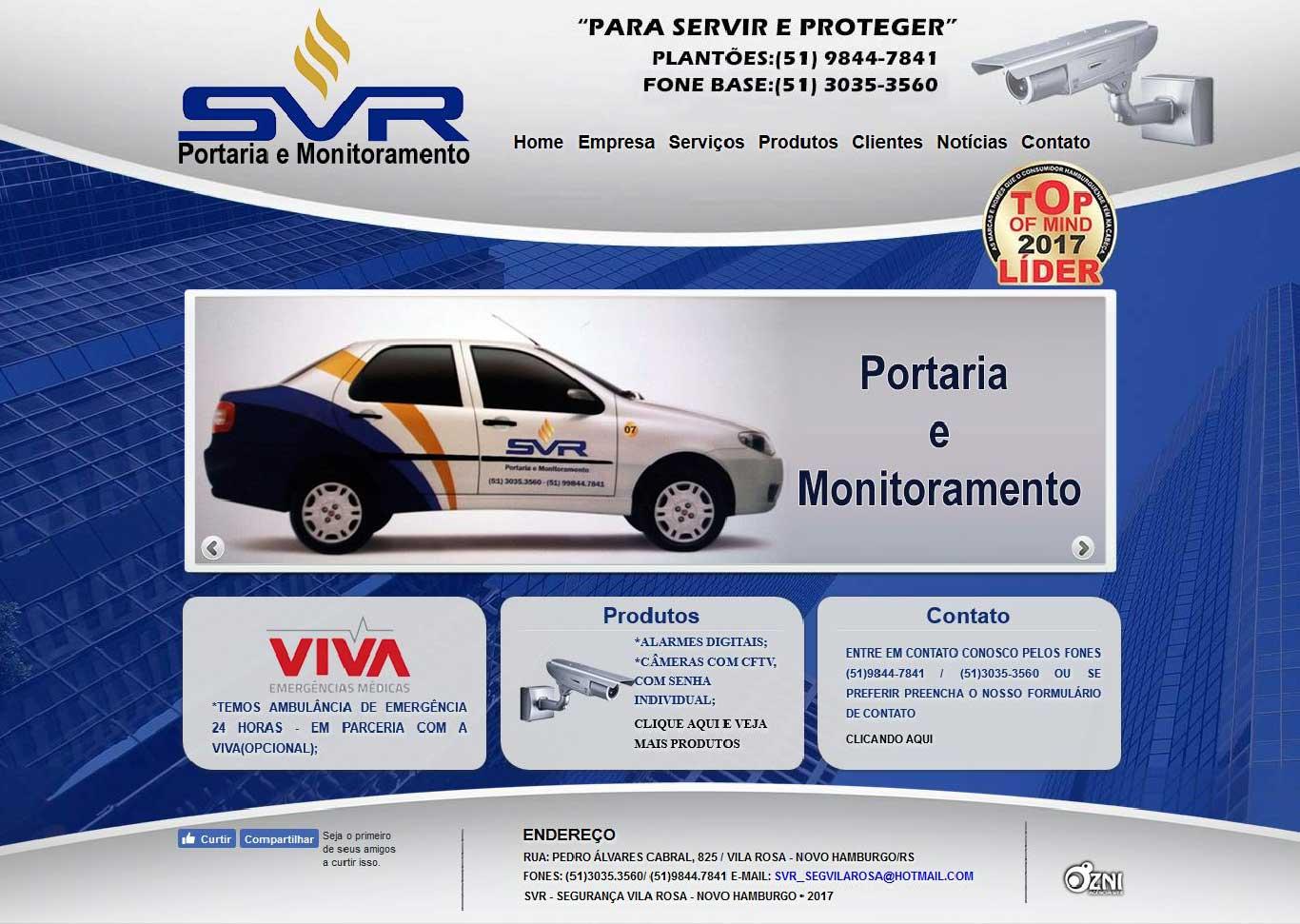 SVR Monitoramento