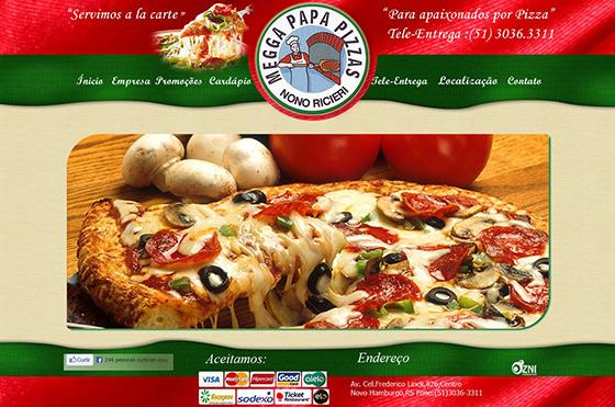 Megga Papa Pizzas